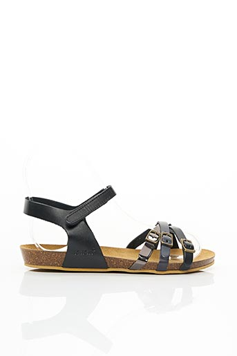 Sandales/Nu pieds noir KICKERS pour fille