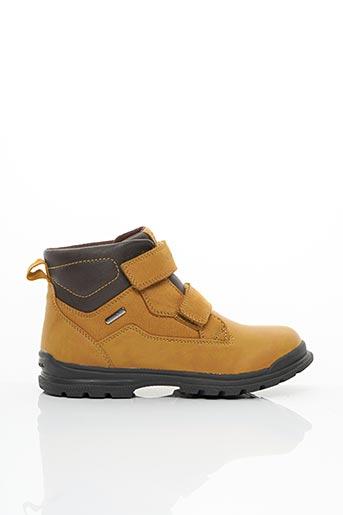 Bottines/Boots jaune GEOX pour garçon