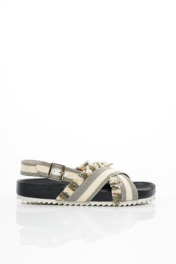 Sandales/Nu pieds vert PAUL & JOE pour femme