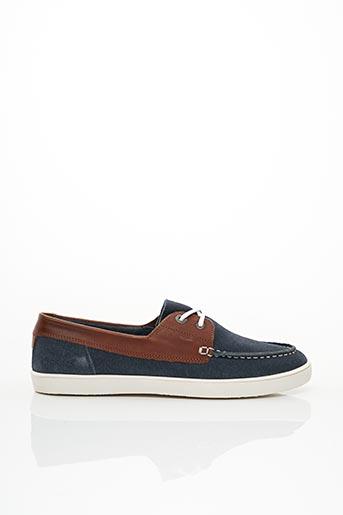 Chaussures bâteau bleu KICKERS pour femme