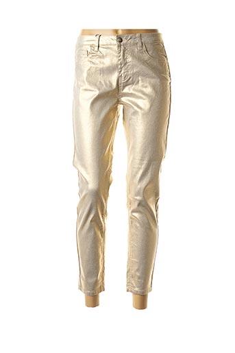 Pantalon 7/8 beige MOLLY BRACKEN pour femme