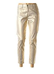 Pantalon 7/8 beige MOLLY BRACKEN pour femme seconde vue