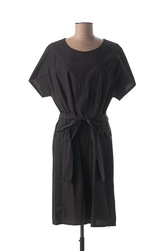Robe mi-longue noir MEXX pour femme