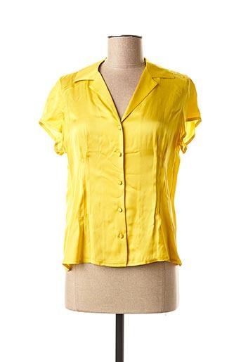 Chemisier manches courtes jaune MEXX pour femme