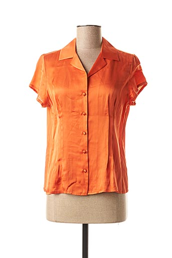 Chemisier manches courtes orange MEXX pour femme