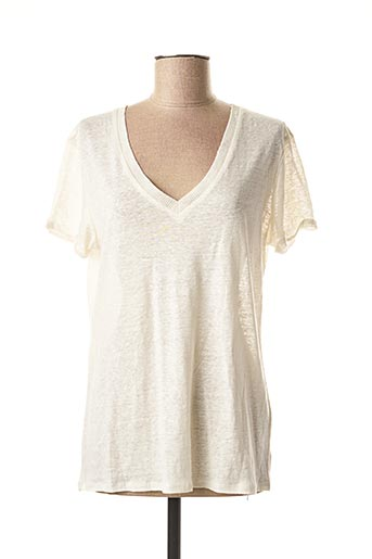 T-shirt manches courtes beige MEXX pour femme