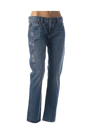Jeans coupe droite bleu MEXX pour femme