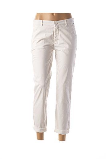 Pantalon 7/8 blanc MEXX pour femme