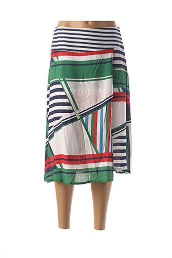 Jupe mi-longue vert MEXX pour femme