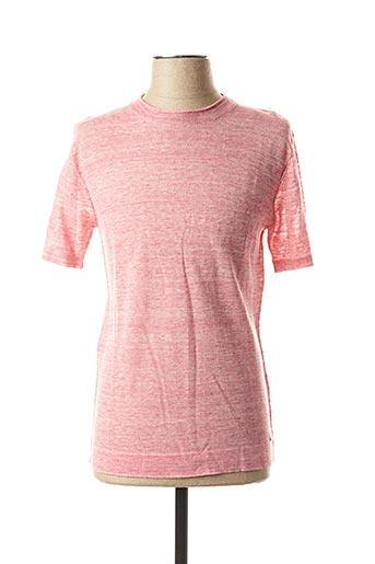 T-shirt manches courtes rose MEXX pour homme