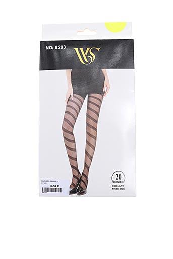 Collants noir WS pour femme