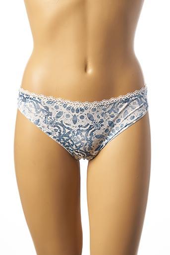 Slip/Culotte bleu ANTIGEL pour femme
