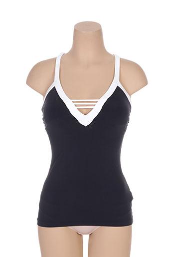 Haut de maillot de bain noir SEAFOLLY pour femme