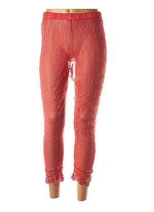 Legging rouge BE THE QUEEN pour femme