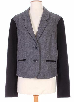 Veste casual gris I.CODE (By IKKS) pour femme