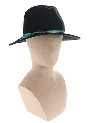 Chapeau noir VAN PALMA pour femme