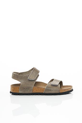 Sandales/Nu pieds gris BETULA pour enfant