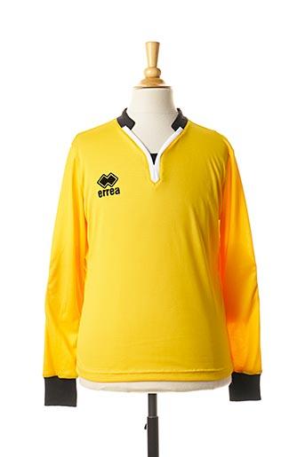 T-shirt manches longues jaune ERREA pour garçon