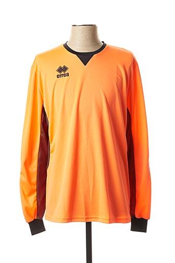 T-shirt manches longues orange ERREA pour homme