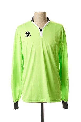 T-shirt manches longues vert ERREA pour homme