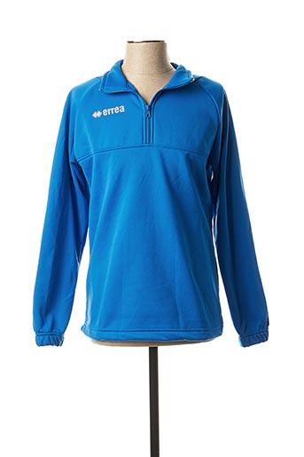 Sweat-shirt bleu ERREA pour homme