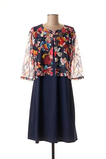 Veste/robe bleu SAINT CHARLES pour femme