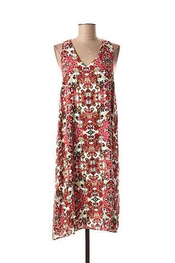 Robe mi-longue rose MISMASH pour femme