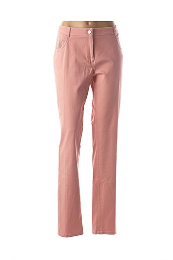 Pantalon casual rose WEINBERG pour femme