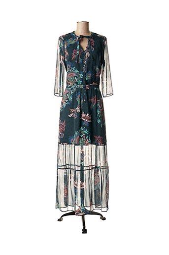 Robe longue bleu ONE STEP pour femme
