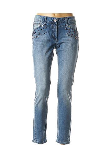 Jeans coupe slim bleu BETTY BARCLAY pour femme