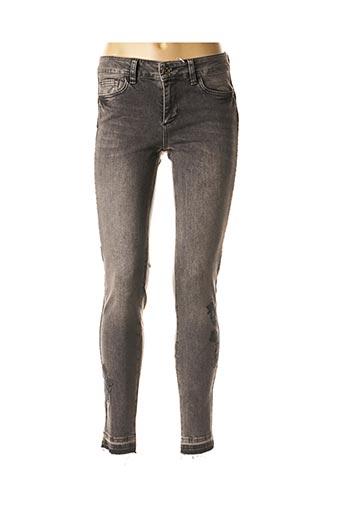 Jeans skinny gris LIU JO pour femme