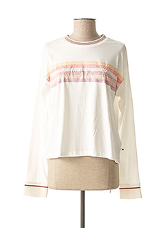 T-shirt manches longues blanc ROXY pour femme