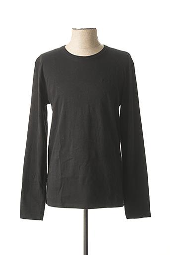T-shirt manches longues noir LEE COOPER pour homme