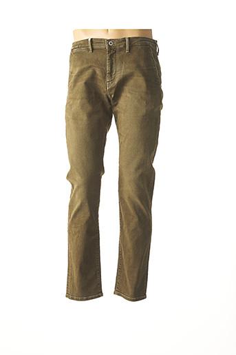 Jeans coupe droite vert PEPE JEANS pour homme