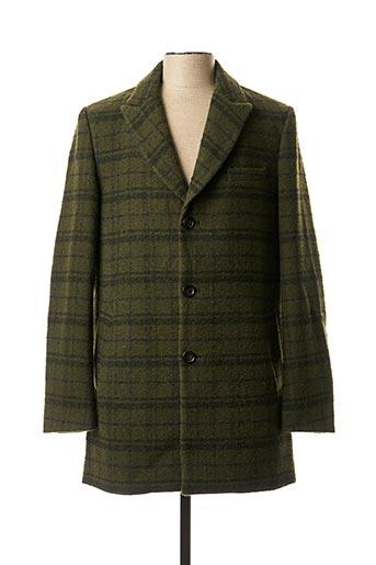 Manteau court vert DSTREZZED pour homme