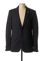 Veste chic / Blazer noir DSTREZZED pour homme seconde vue