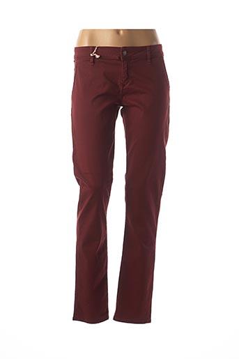 Pantalon casual rouge LEE COOPER pour femme