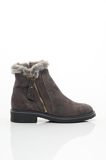 Bottines/Boots gris GOODSTEP pour femme