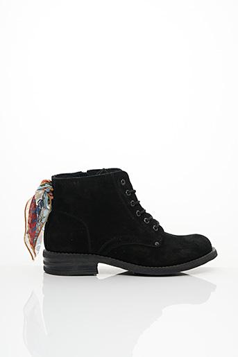 Bottines/Boots noir GOODSTEP pour femme