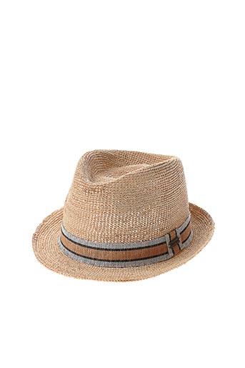 Chapeau beige AUREGA pour femme