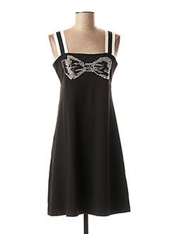 Robe mi-longue noir ANANKE pour femme