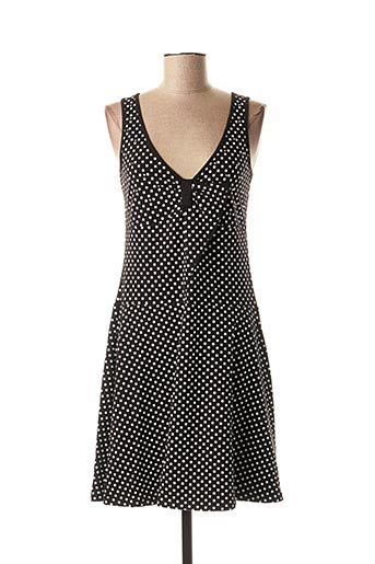 Robe courte noir FUEGO WOMAN pour femme