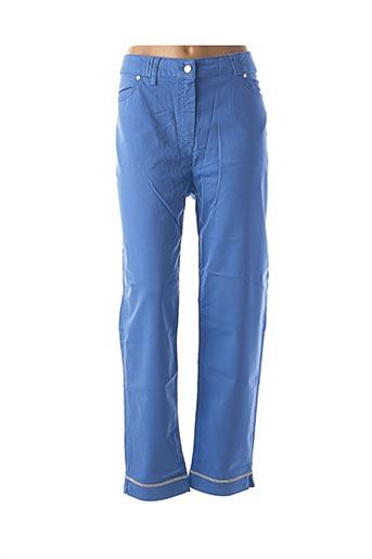 Pantalon casual bleu FUEGOLITA pour femme