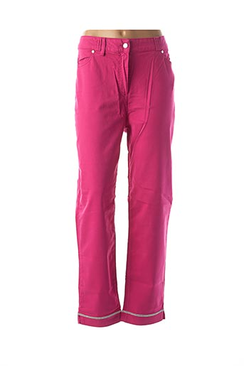 Pantalon casual rose FUEGOLITA pour femme