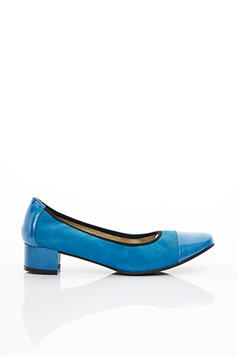 Ballerines bleu J.METAYER pour femme
