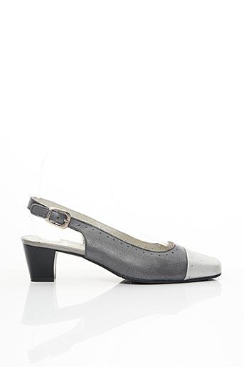 Escarpins gris PEDI GIRL pour femme