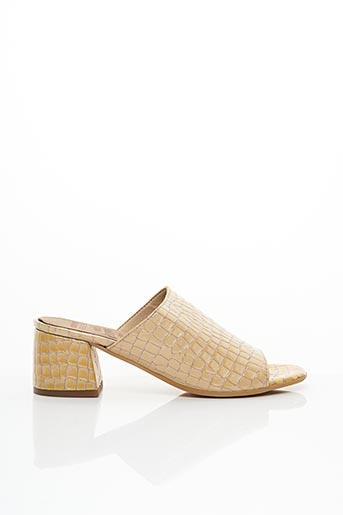 Mules/Sabots beige WONDERS pour femme