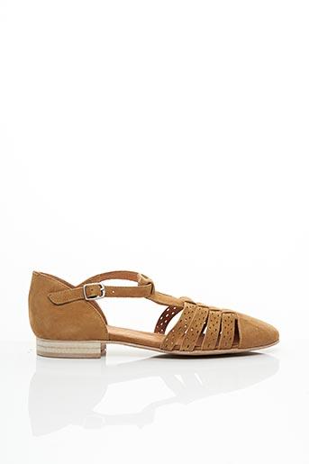Sandales/Nu pieds marron EMILIE KARSTON pour femme