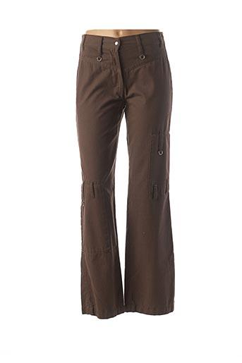 Pantalon casual vert COTE ANGLAISE pour femme