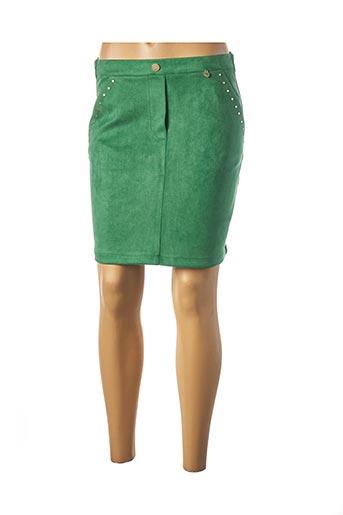Jupe courte vert RINASCIMENTO pour femme